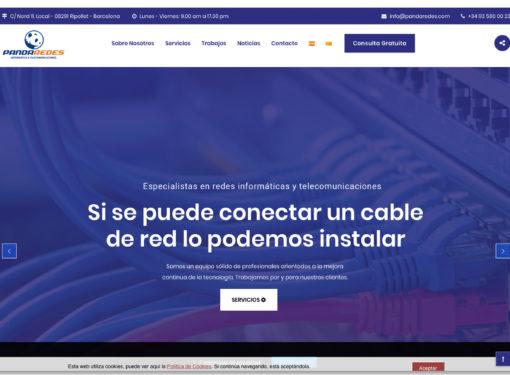 Panda Redes - Web corporativa